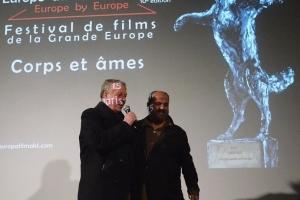 Pierre-Henri Deleau et Ossama Mohammed