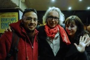 Pablo Gleason, Patrick Morell et Maria Rueda
