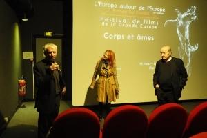 Marcel Grignard présente la soirée Confrontations Europe