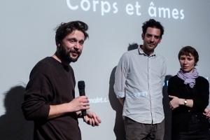Gust Van Den Berghe, Petar Mitric et Ivanka Myers