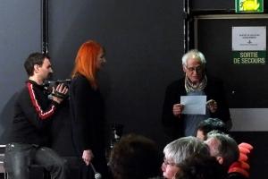 Bruce Myers annonce le Prix Présent