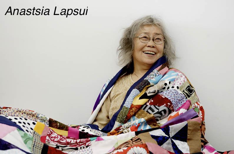 HSHU 20070705 Anastasia Lapsui kotonaan Helsingissä. Kuvaaja Hanna-Kaisa Hämäläinen