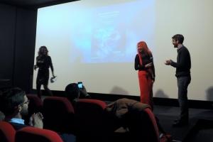 Elisabeth Duda, Irena Bilic et Pierre Nicolas Combe